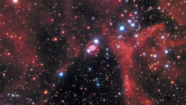 W 1987 roku wybucha supernowa SN 1987A